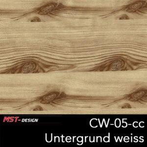MST-Design, Wassertransferdruck, Folie CW-05-cc, Untergrund weiß