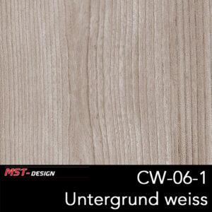 MST-Design, Wassertransferdruck, Folie CW-06, Untergrund weiß