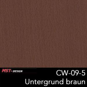 MST-Design, Wassertransferdruck, Folie CW-09-5, Untergrund braun