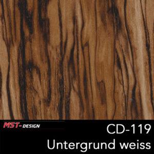 MST-Design, Wassertransferdruck, Folie CW-119, Untergrund weiß