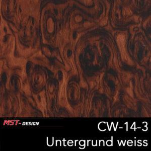 MST-Design, Wassertransferdruck, Folie CW-14-3, Untergrund weiß