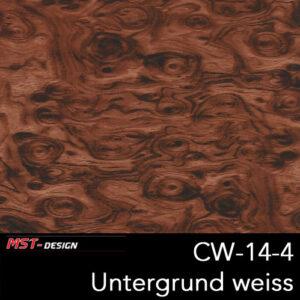 MST-Design, Wassertransferdruck, Folie CW-14-4, Untergrund weiß