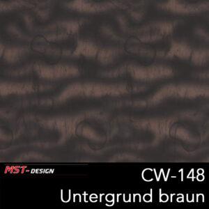 MST-Design, Wassertransferdruck, Folie CW-148, Untergrund braun