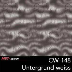 MST-Design, Wassertransferdruck, Folie CW-148, Untergrund weiß