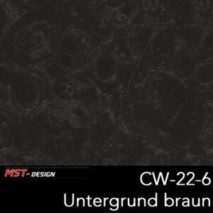 MST-Design, Wassertransferdruck, Folie CW-22-6, Untergrund braun