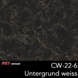 MST-Design, Wassertransferdruck, Folie CW-22-6, Untergrund weiß
