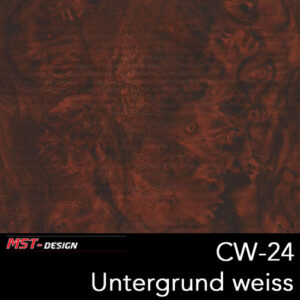 MST-Design, Wassertransferdruck, Folie CW-24, Untergrund weiß