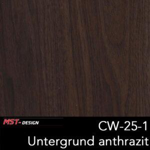 MST-Design, Wassertransferdruck, Folie CW-25-1, Untergrund anthrazit