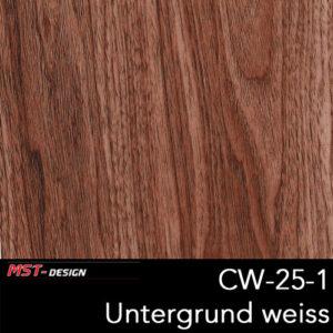MST-Design, Wassertransferdruck, Folie CW-25-1, Untergrund weiß