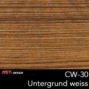 MST-Design, Wassertransferdruck, Folie CW-30, Untergrund weiß