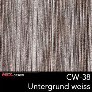 MST-Design, Wassertransferdruck, Folie CW-38, Untergrund weiß