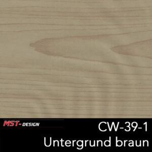 MST-Design, Wassertransferdruck, Folie CW-39-1, Untergrund braun
