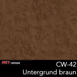 MST-Design, Wassertransferdruck, Folie CW-42, Untergrund braun