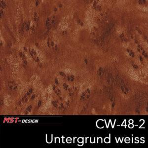 MST-Design, Wassertransferdruck, Folie CW-48-2, Untergrund weiß