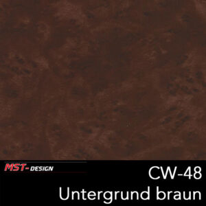MST-Design, Wassertransferdruck, Folie CW-48, Untergrund braun