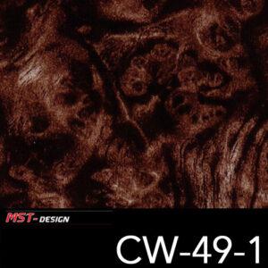 MST-Design, Wassertransferdruck, Folie CW-49-1