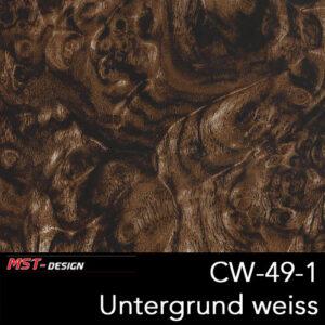 MST-Design, Wassertransferdruck, Folie CW-49-1, Untergrund weiß