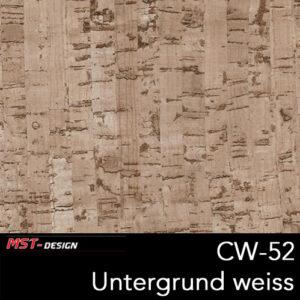 MST-Design, Wassertransferdruck, Folie CW-52, Untergrund weiß