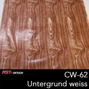 MST-Design, Wassertransferdruck, Folie CW-62, Untergrund weiß
