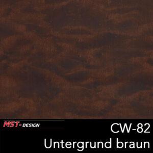MST-Design, Wassertransferdruck, Folie CW-82, Untergrund braun
