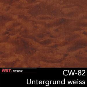 MST-Design, Wassertransferdruck, Folie CW-82, Untergrund weiß