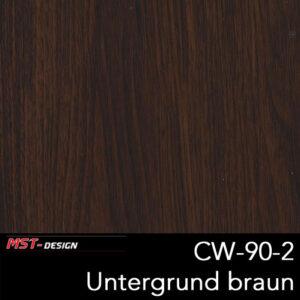MST-Design, Wassertransferdruck, Folie CW-90-2, Untergrund braun