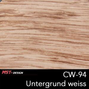 MST-Design, Wassertransferdruck, Folie CW-94, Untergrund weiß