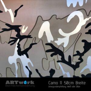 ARTwork, Wassertransferdruck, Folie Camouflage 11, 50cm Breite