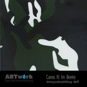 ARTwork, Wassertransferdruck, Folie Camouflage 15, 1m Breite