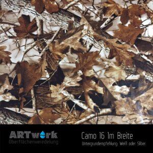 ARTwork, Wassertransferdruck, Folie Camouflage 16, 1m Breite