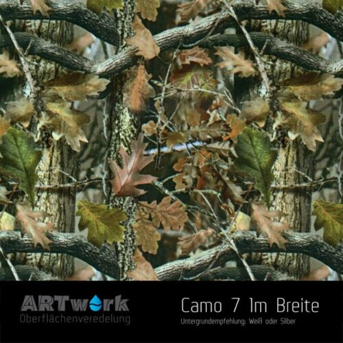 ARTwork, Wassertransferdruck, Folie Camouflage 7, 1m Breite