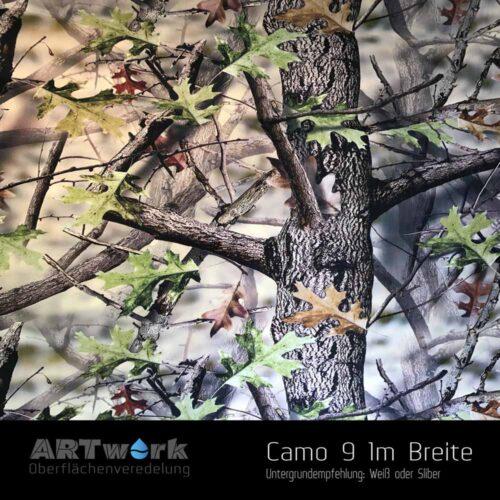 ARTwork, Wassertransferdruck, Folie Camouflage 9, 1m Breite