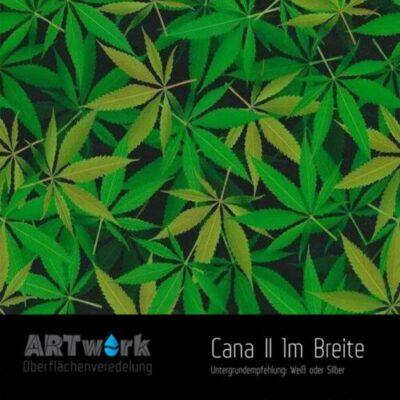 ARTwork, Wassertransferdruck, Folie Cannabis Blätter, 1m Breite