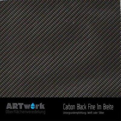 ARTwork, Wassertransferdruck, Folie Carbon Black Fine, 1m Breite