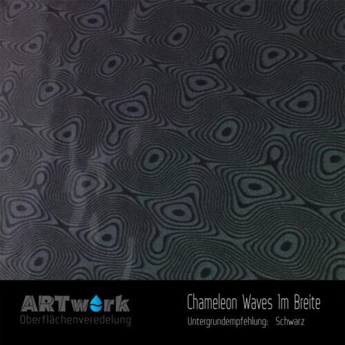 ARTwork, Wassertransferdruck, Folie Chameleon Waves, 1m Breite