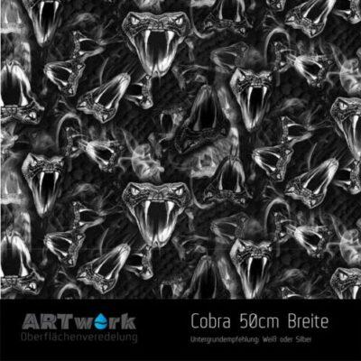 ARTwork, Wassertransferdruck, Folie Cobra, 50cm Breite