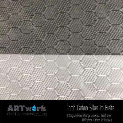 ARTwork, Wassertransferdruck, Folie Comb Carbon, 1m Breite