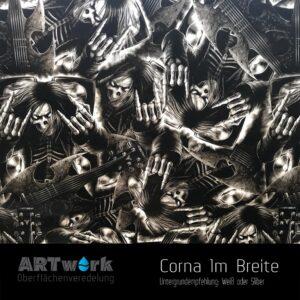 ARTwork, Wassertransferdruck, Folie Corna, 1m Breite