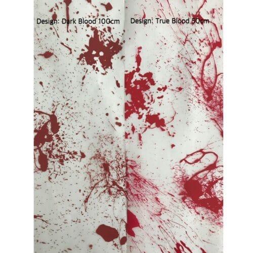 ARTwork, Wassertransferdruck, Folie Dark Blood