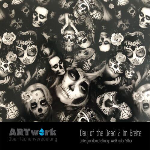 ARTwork, Wassertransferdruck, Folie Day of the Dead 2, 1m Breite