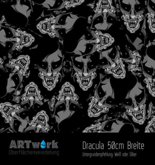 ARTwork, Wassertransferdruck, Folie Dracula, 50cm Breite