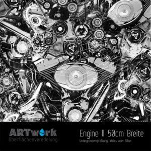 ARTwork, Wassertransferdruck, Folie Engine II, 50cm Breite