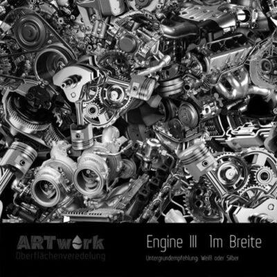 ARTwork, Wassertransferdruck, Folie Engine III, 1m Breite