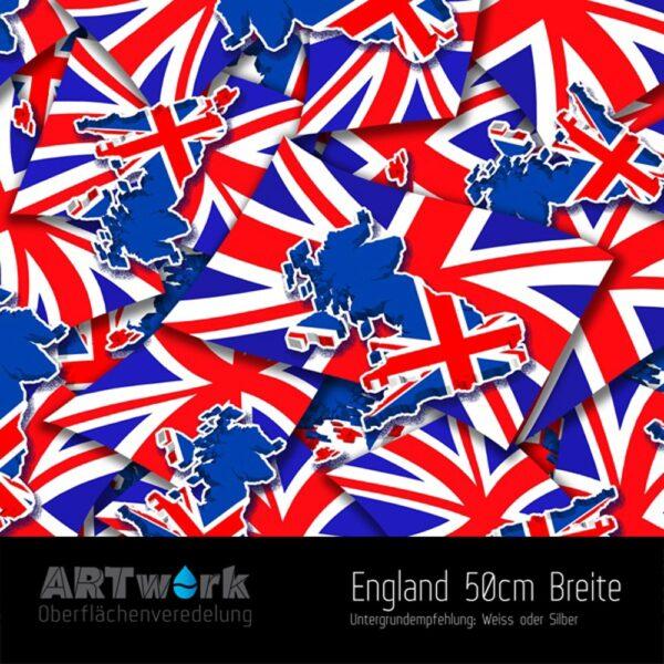 ARTwork, Wassertransferdruck, Folie England, 50cm Breite