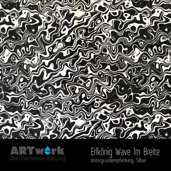 ARTwork, Wassertransferdruck, Folie Erlkönig Wave, 1m Breite