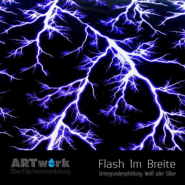 ARTwork, Wassertransferdruck, Folie Flash, 1m Breite