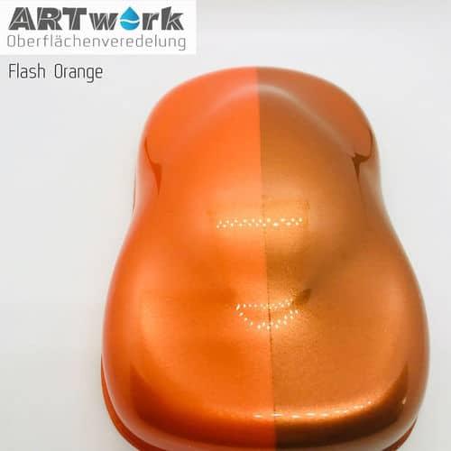Effektlackt Flash Orange 1 Liter Artwork