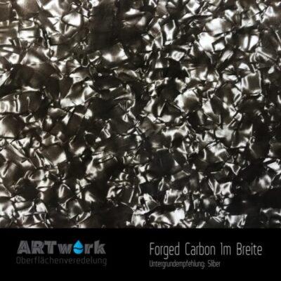 ARTwork, Wassertransferdruck, Folie Forged Carbon, 1m Breite