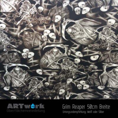 ARTwork, Wassertransferdruck, Folie Grim Reaper, 50cm Breite