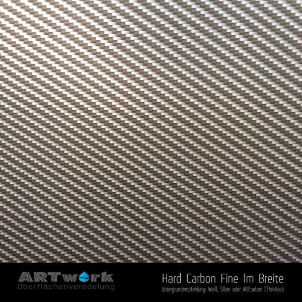ARTwork, Wassertransferdruck, Folie Hard Carbon Fine, 1m Breite